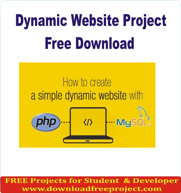 Free  Dynamic Website Project In PHP Projects Download