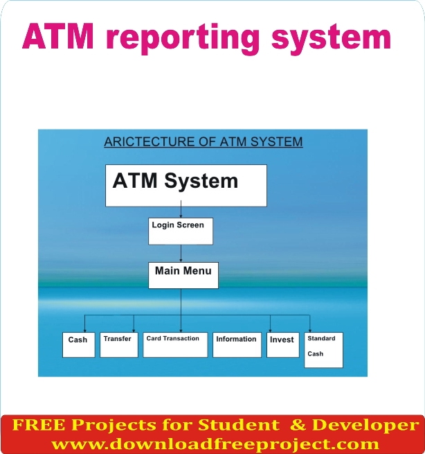 Free ATM Reporting System In Asp.Net Projects Download