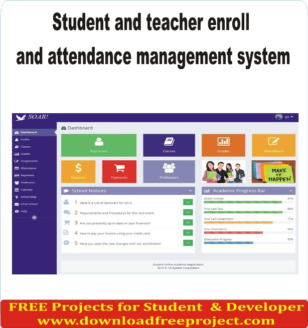 Free Attendance Management system In Asp.Net Projects Download