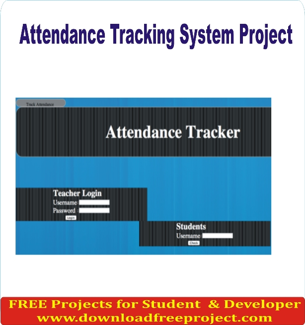 Free Attendance system Project In PHP Projects Download