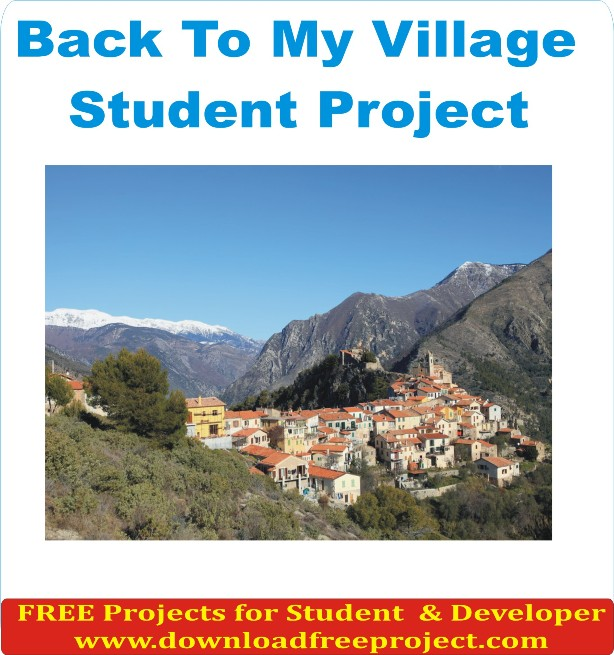 Free Back To My Village In Asp.Net Projects Download