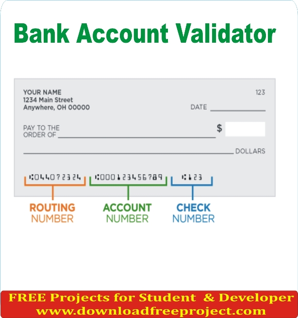 Free Bank Account Validator In Asp.Net Projects Download