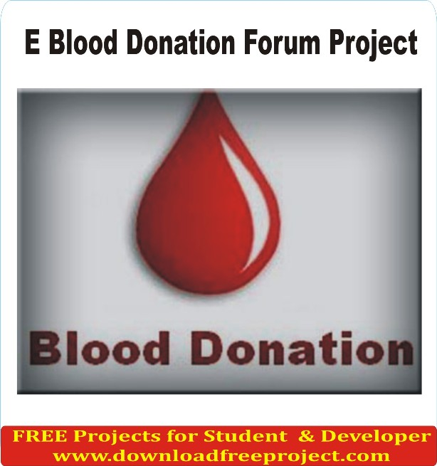 Free Blood Donation In Asp.Net Projects Download