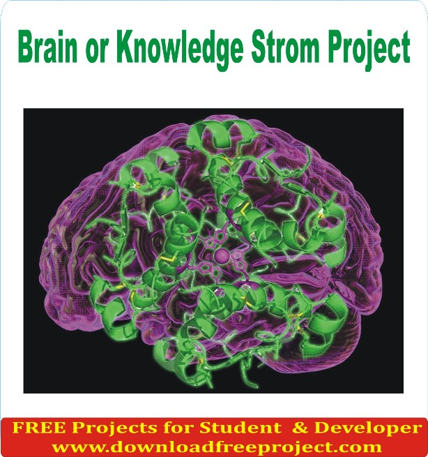 Free Brain or Knowledge Storm Project In Java Projects Download