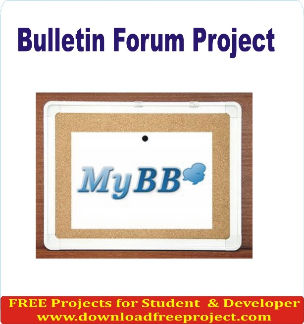 Free Bulletin Forum In PHP Projects Download