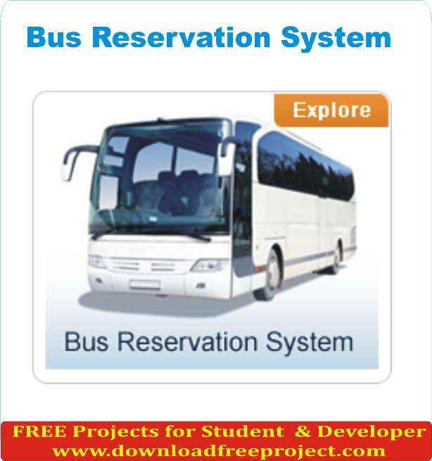 Free Bus Reservation System In PHP Projects Download