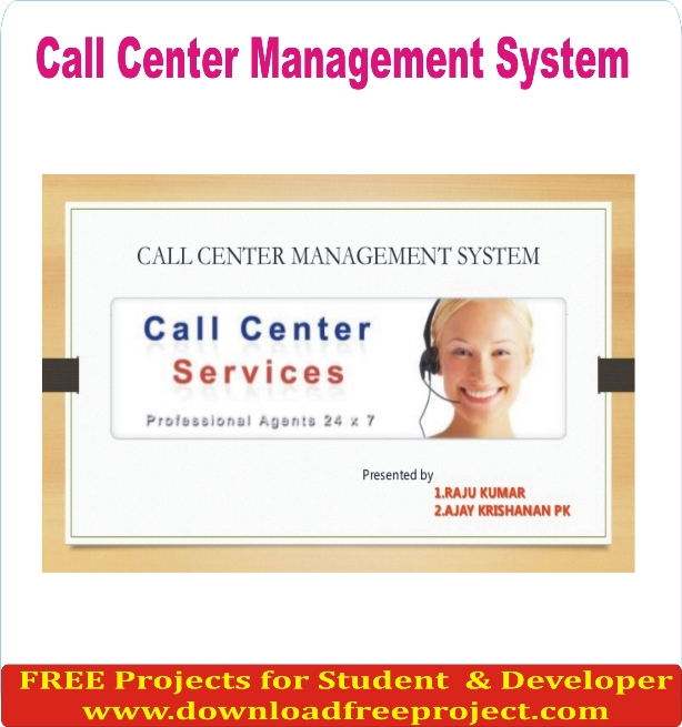 Free Call Center Management In Asp.Net Projects Download