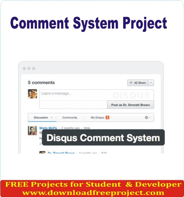 Free Comment System Project In PHP Projects Download