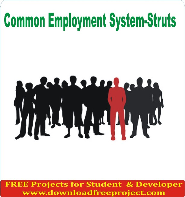 Free Common Employment System In Java Projects Download