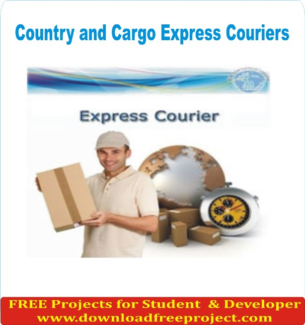 Free Country and Cargo Express Couriers In Java Projects Download