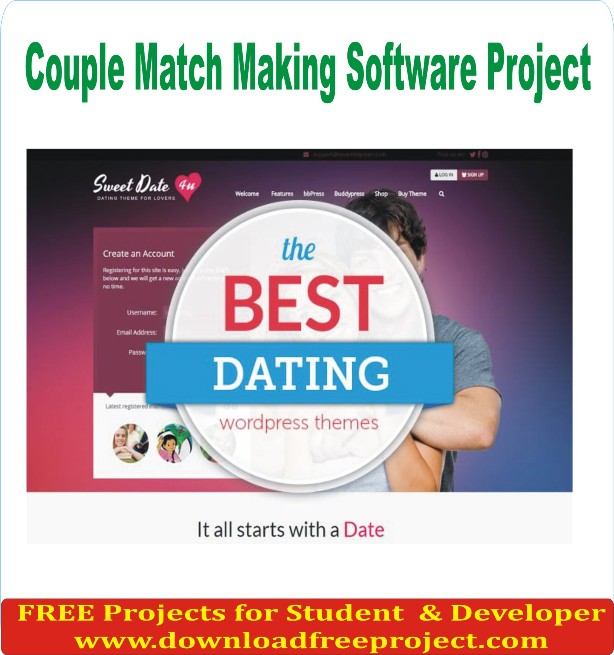 Free Couple Match Making Software Project In Java Projects Download