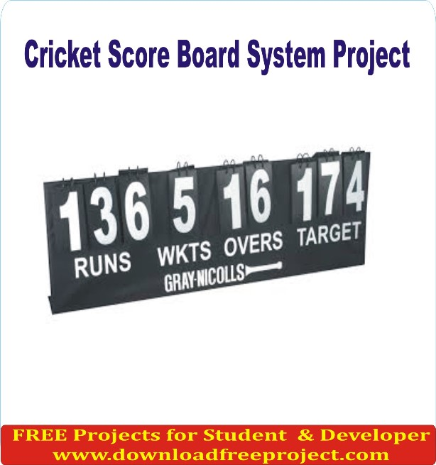 Free Cricket Score Board In Asp.Net Projects Download