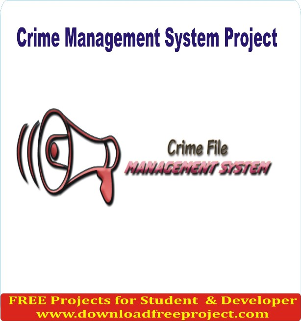Free Crime Management System In PHP Projects Download