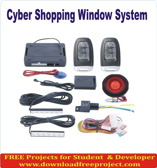 Free Cyber Shopping In Java Projects Download