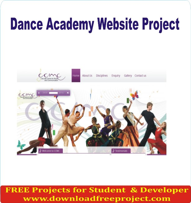 Free Dance Academy Website In PHP Projects Download
