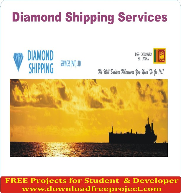 Free Diamond Shipping In Java Projects Download