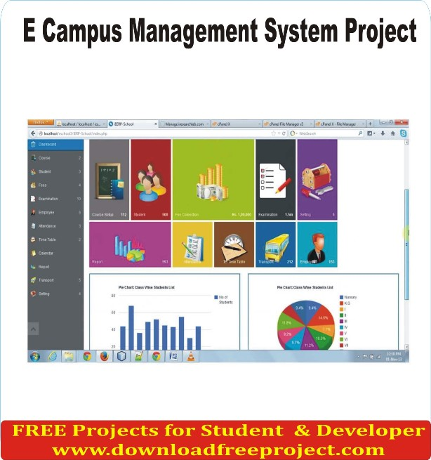 Free E Campus Management In Asp.Net Projects Download