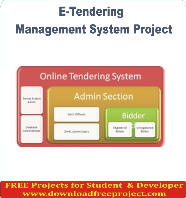 Free E-Tendering System In Asp.Net Projects Download