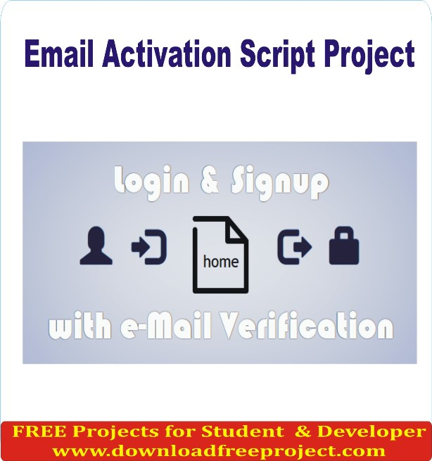 Free Email Activation Script In PHP Projects Download
