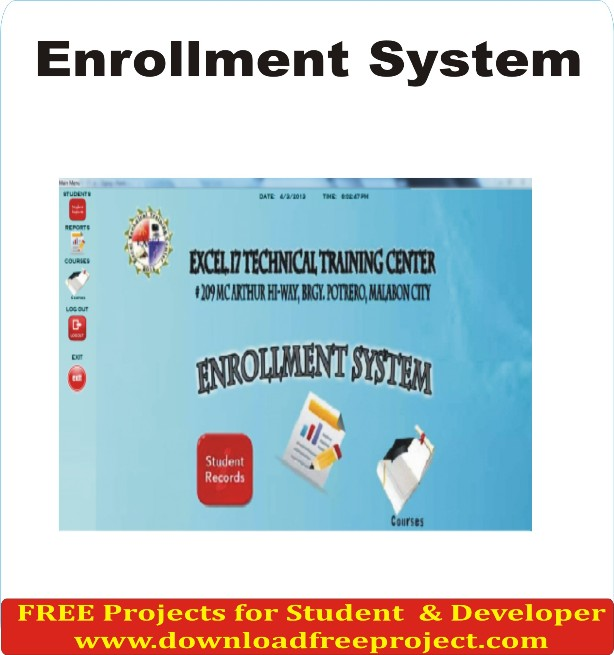 Free Enrollment System In PHP Projects Download