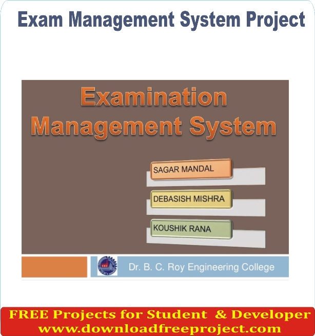 Free Exam Management System In Asp.Net Projects Download