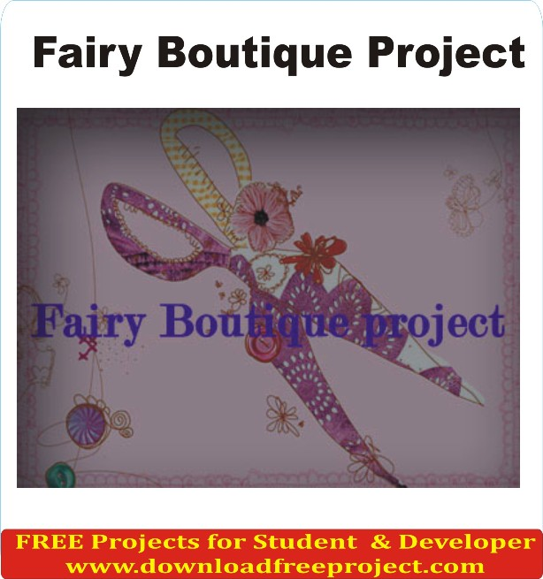 Free Fairy Boutique System In Asp.Net Projects Download