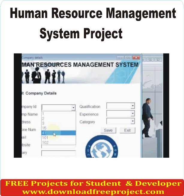 Free Human resource management system In Asp.Net Projects Download