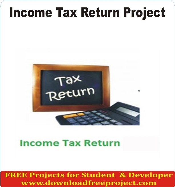 Free Income Tax Return In PHP Projects Download