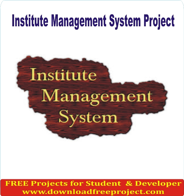 Free Institute Management In Asp.Net Projects Download