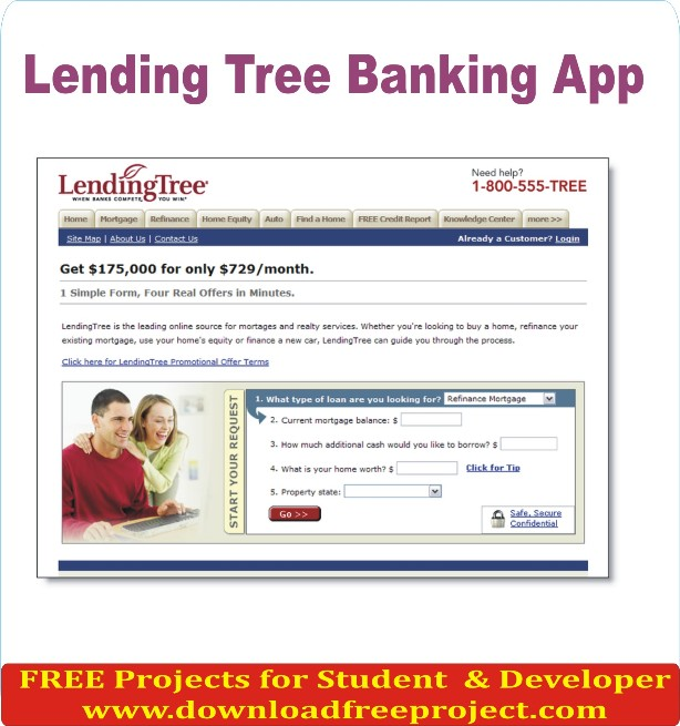 Free Lending Tree Banking App In Java Projects Download