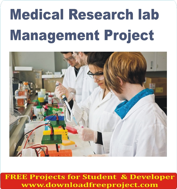 Free Medical Research lab Management System In Asp.Net Projects Download