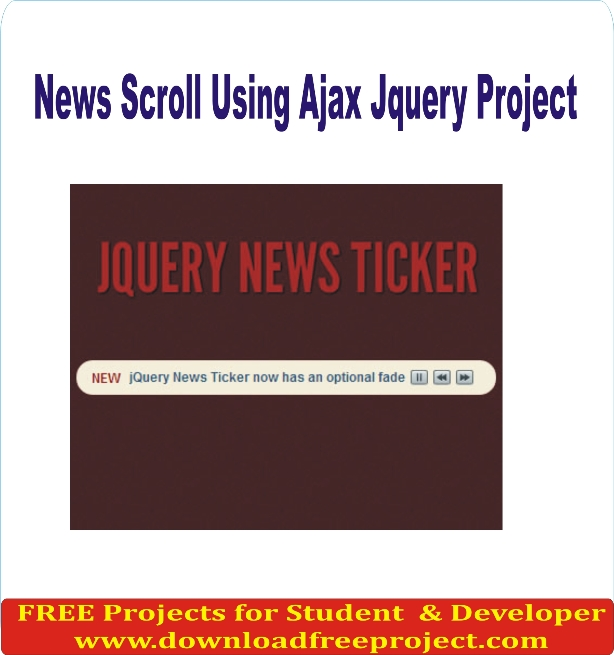 Free News Scroll Using Ajax Jquery In PHP Projects Download