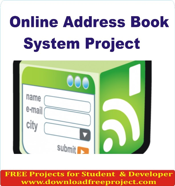 Free Online Address Book System In PHP Projects Download