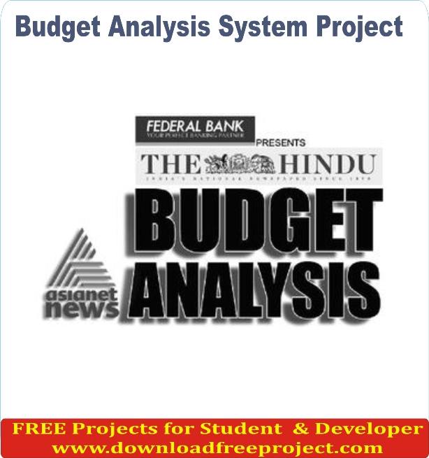 Free Online Budget Analysis System In Asp.Net Projects Download