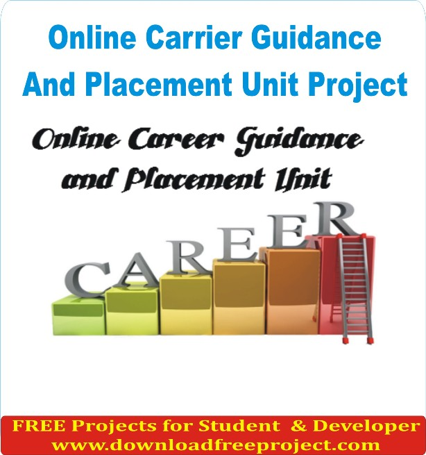 Free Online Carrier Guidance And Placement Unit In PHP Projects Download