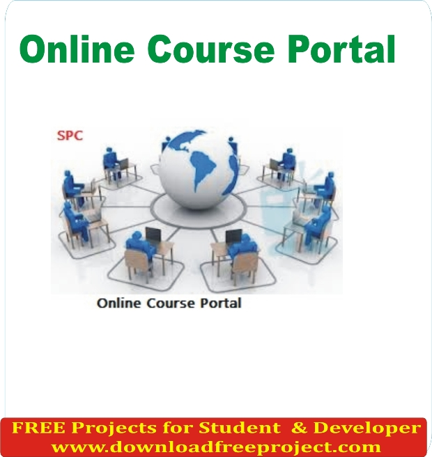 Free Online Course Portal In PHP Projects Download