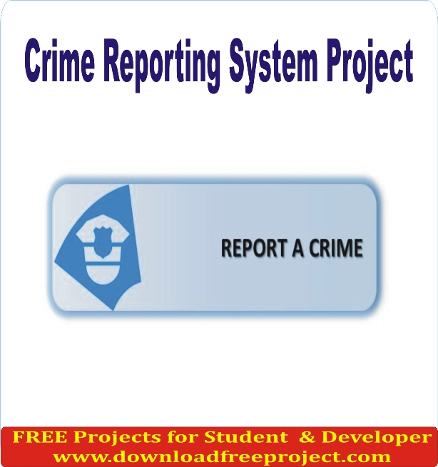 Free Online Crime Reporting System In PHP Projects Download