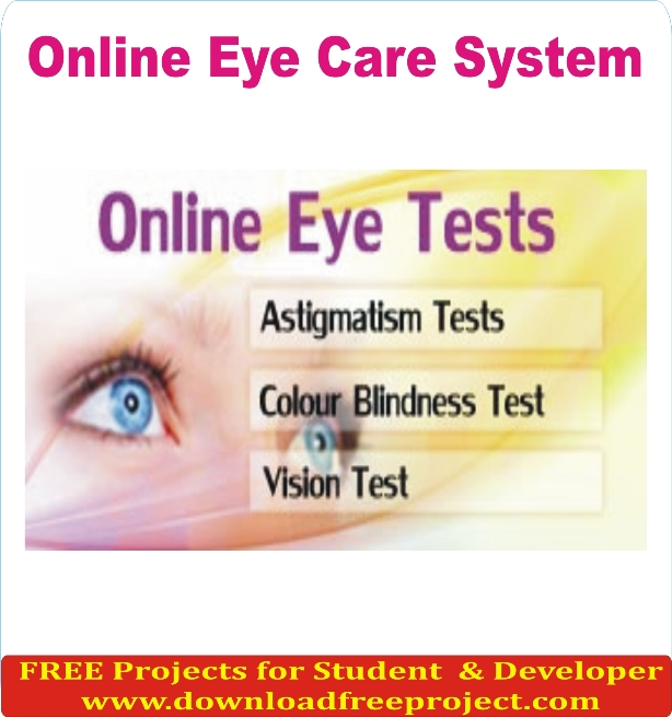 Free Online Eye Care System In Asp.Net Projects Download