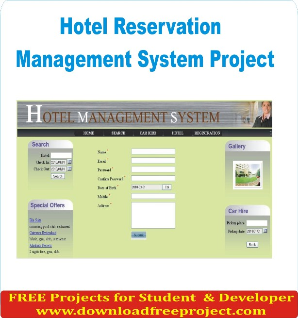 Free Online Hotel Management System In Asp.Net Projects Download