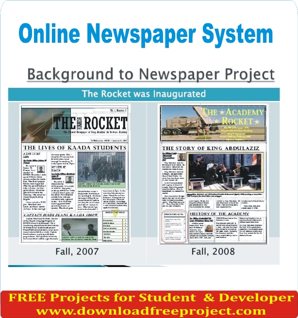 Free Online Newspaper In PHP Projects Download