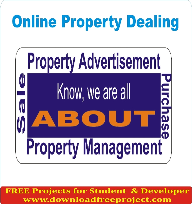 Free Online Property Dealing In PHP Projects Download