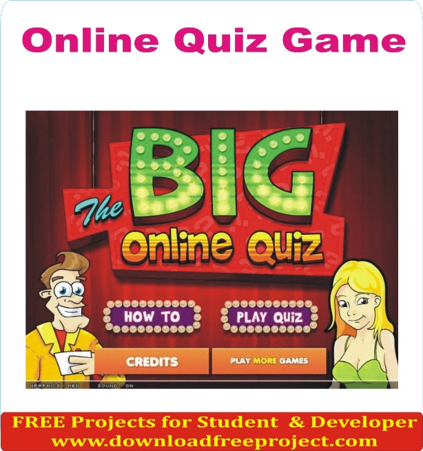 Free Online Quiz Game In Java Projects Download