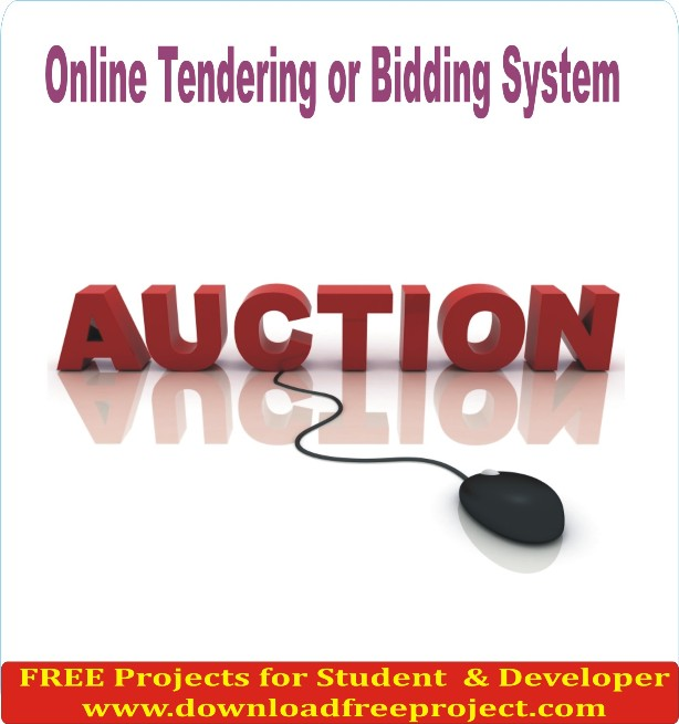 Free Online Tendering or Bidding System In Java Projects Download