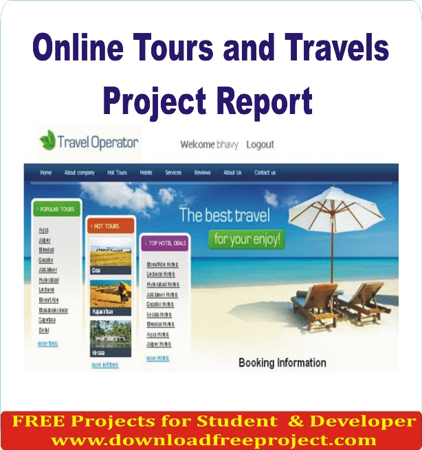 Free Online Trip Booking System In PHP Projects Download