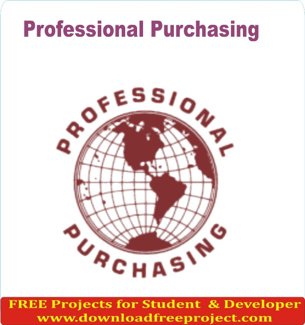 Free Professional Purchasing In Java Projects Download