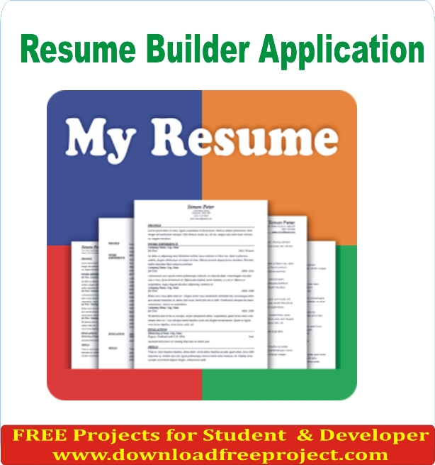 Free Resume Maker project In PHP Projects Download