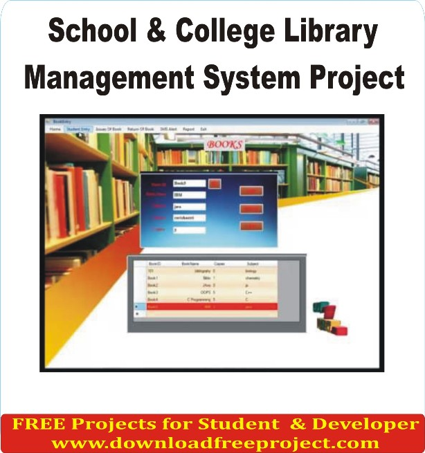 Free School Management System project In PHP Projects Download