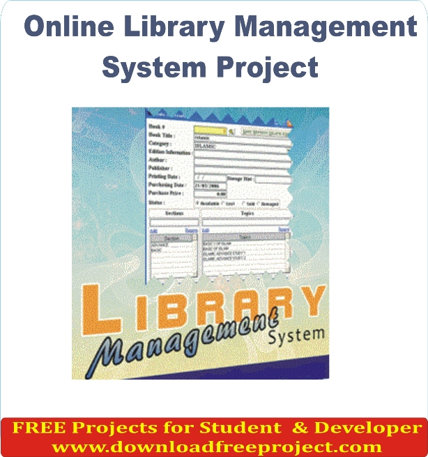 School And College Library Management System Project Free School