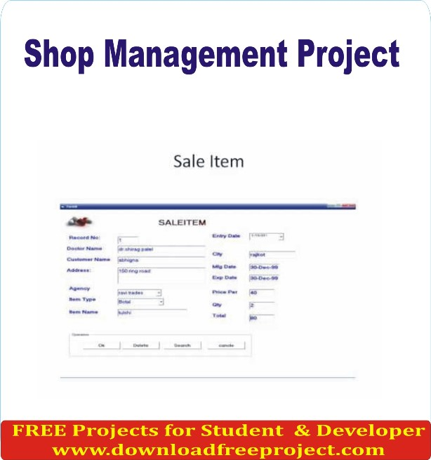Free Shop Management In PHP Projects Download