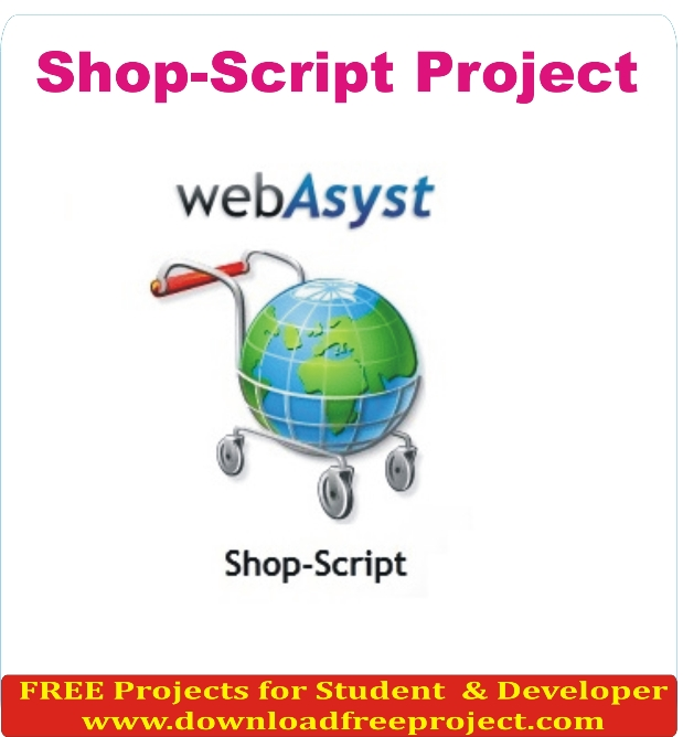 Free Shop Script In PHP Projects Download